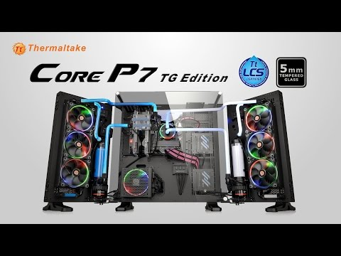 Thermaltake Core P7 Tempered Glass Edition Full Tower Chassis Product Animation