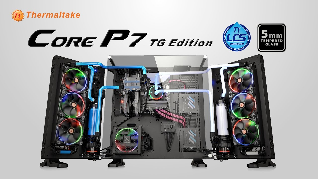 Thermaltake Core P7 Tempered Glass Edition Full Tower