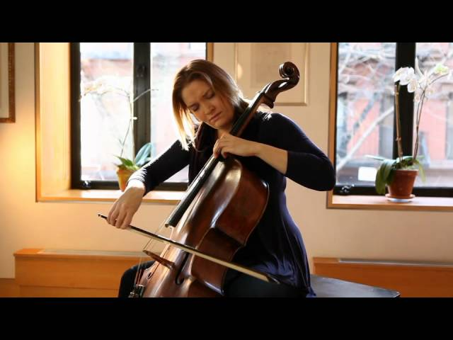 Saeunn Thorsteinsdottir, cello