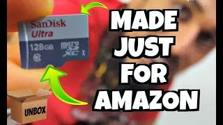 "This exact card: https://amzn.to/2MXZa59 - SanDisk 128 GB micro SD Memory Card for Fire Tablets and Fire TV - Made for Amazon ""Made for Amazon"" SanDisk ..."
