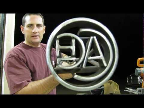 How to Make a Custom Branding Iron!!