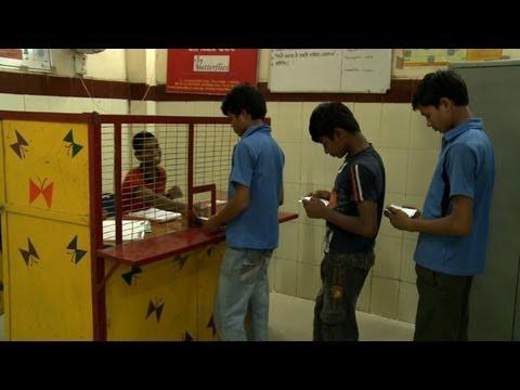 Delhi children bank on their future