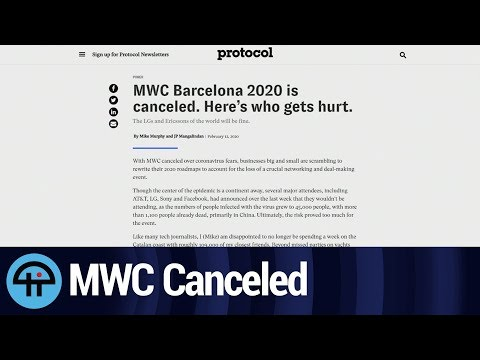 MWC Barcelona Is Canceled. Here's Who It Hurts