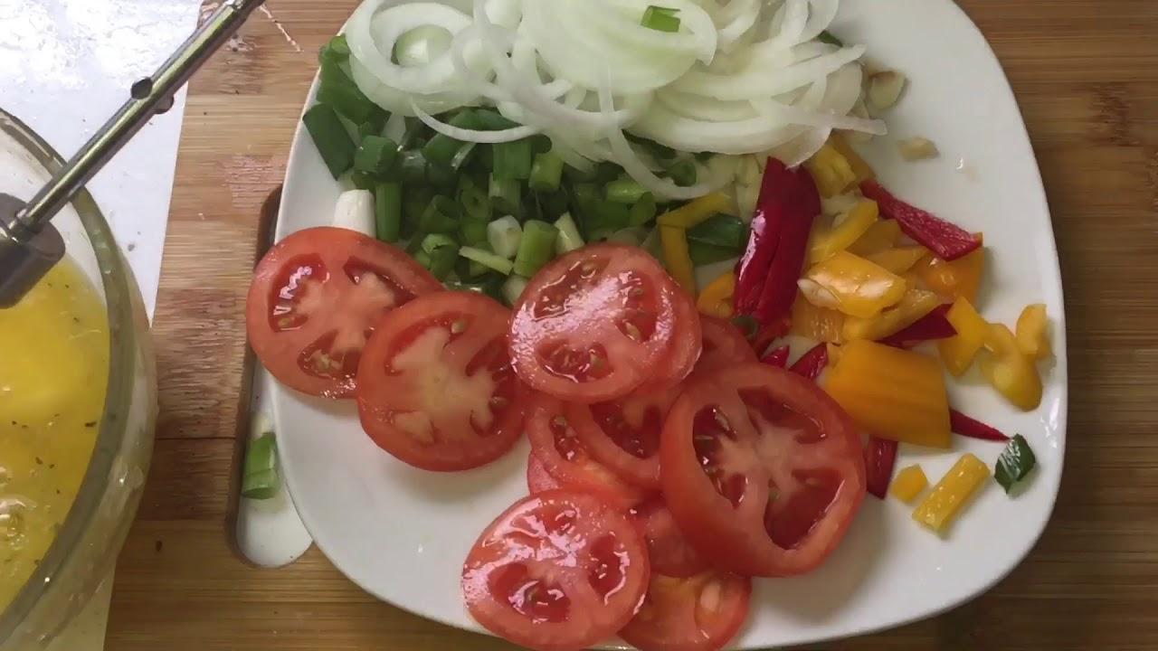 how to make Haitian Eggs and Plantains (ze ak bannann ...