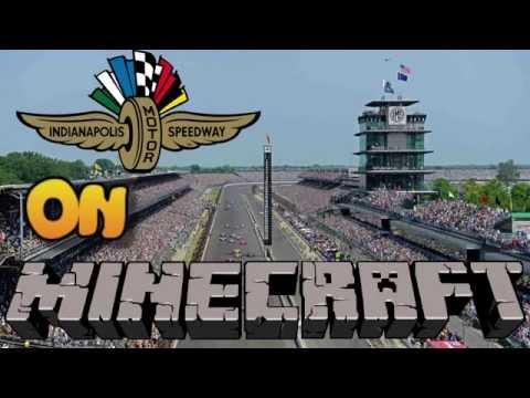 Indianapolis Motor Speedway on MINECRAFT Xbox 360