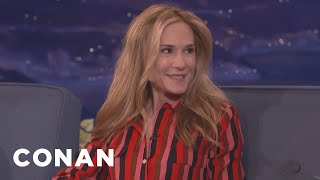 "Holly Hunter: ""I Might Be A Little Hard To Take""  - CONAN on TBS"