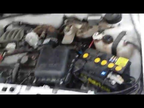 при запуске двигатель начинает троить
