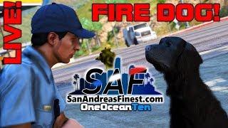 PART 5 - Extra Life 24hr Charity Stream! - GTA V RP Fire Dog!