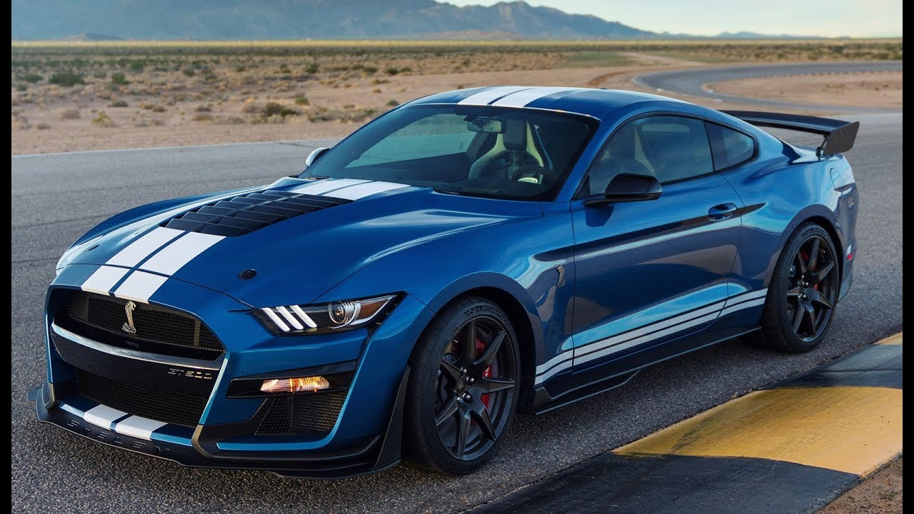 2020 ford mustang shelby gt500  700hp - most powerful mustang ever