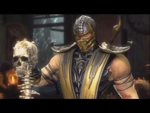 Mortal Kombat 9 - Story Mode - Intro + Scorpion Part HD
