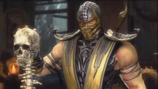 Mortal Kombat 9 - Story Mode - Intro + Scorpion Part HD