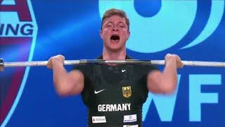 Men's 77 kg A Session Clean & Jerk - 2017 IWF Weightlifting World Championships (WWC)