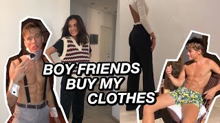 BOY FRIENDS BUY MY CLOTHES ft. Laurits and Anton