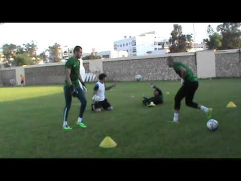 Goalkeeper training CS SFAXIEN, TUNISIA 2015-PART 1