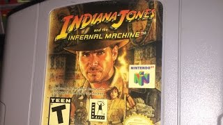 Indiana Jones and the Infernal Machine (N64) James & Mike Mondays