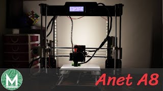 best 3d printer to get into 3d printing    anet a8 3d printer review