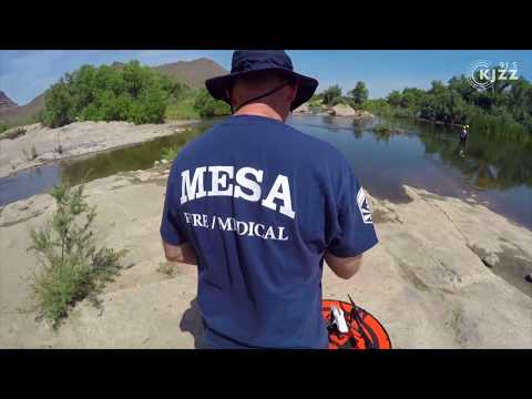 Mesa Fire And Medical Drones Take Off