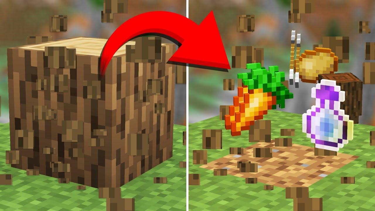 What if Every Minecraft Drop was RANDOM? (Randomizer Survival #1