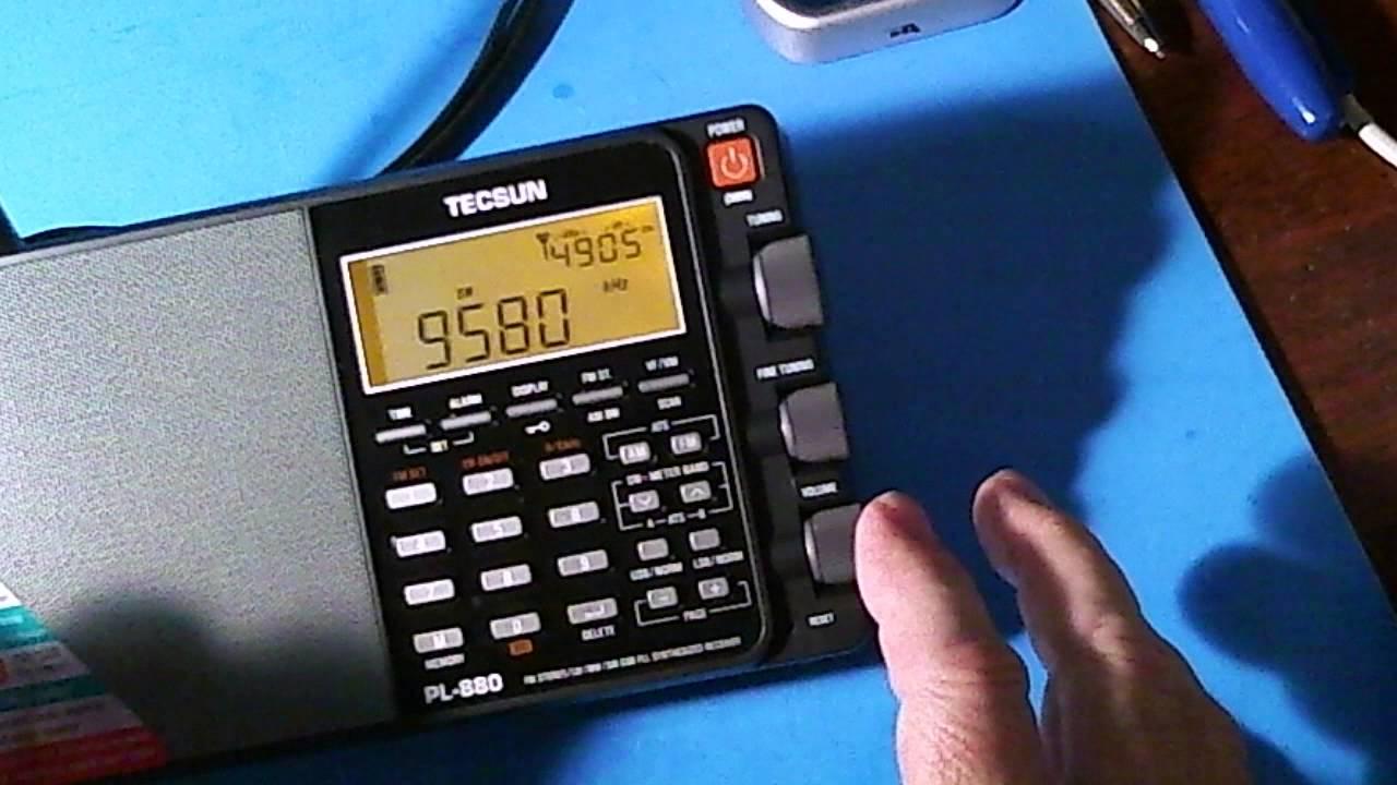 TRRS #0512 - Tecsun PL-880 Sync Detector Testing - YouTube