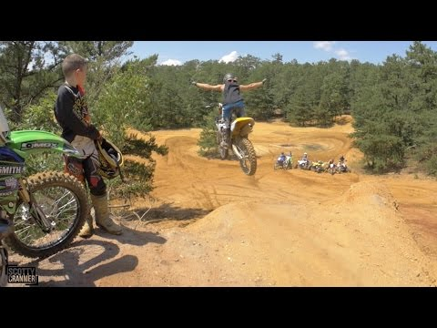 DIRT BIKE SUICIDE DROP!
