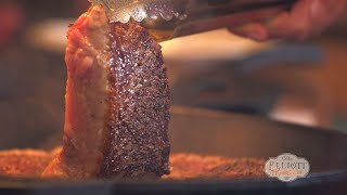Cast Iron Steak and Mushrooms
