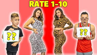 My SON And HUSBAND RATE My PREGNANCY OUTFITS!! 🤷‍♀️ | The Royalty Family