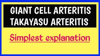 Takayasu Arteritis.