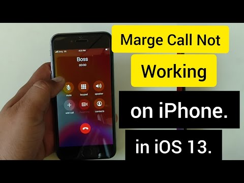 How To Fix Conference Call Not Working On IPhone.
