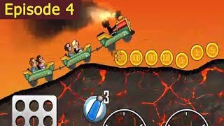 Kids Videos For Kids episode 4 - Funny Trains Cartoons - Toys For Kids - Hill Climb Racing Game
