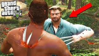 GTA 5 LOGAN Movie Wolverine Mod W/ Deadly Claws!!! Brutal Kills Compilation (GTA 5 Mods)