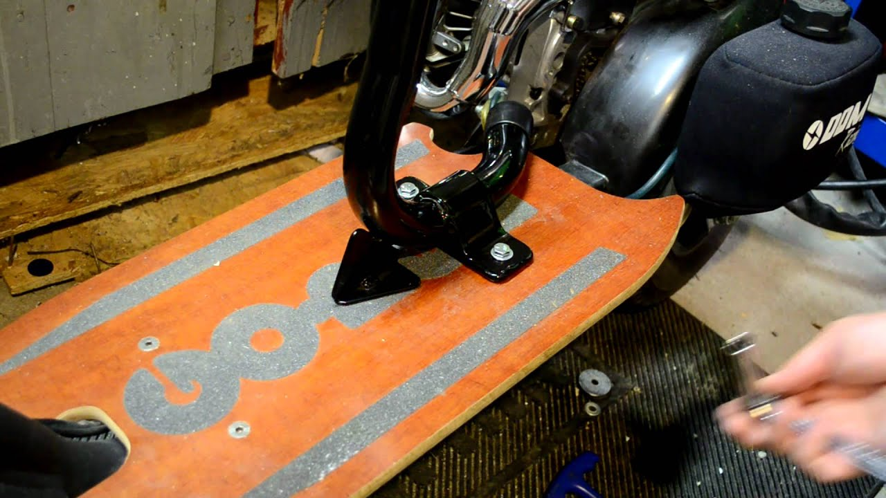 GoPed GTR46i Seat Installation by n1bpd