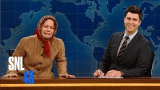 Weekend Update: Olya Povlatsky on the Russian Economy - SNL