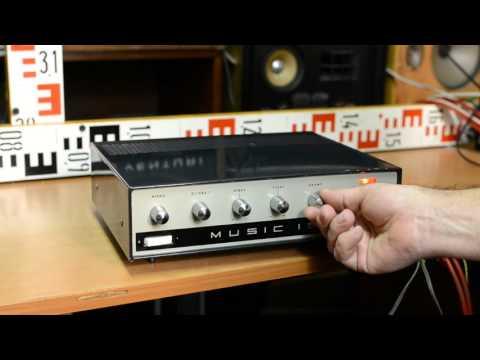 Tesla MUSIC 15 - AZK 150, mono amplifier