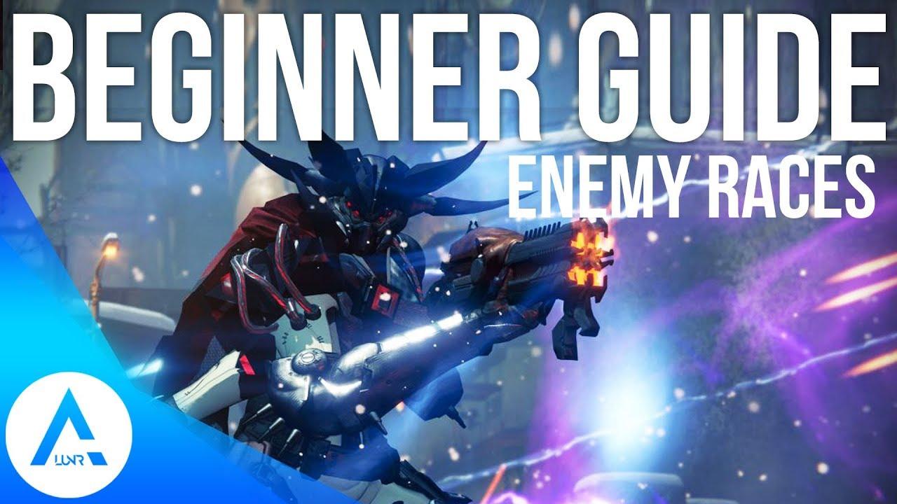 Destiny 2 Enemy Races Levels Explained Youtube
