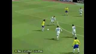Brasil x Costa Rica Golaço Imperador + Ass. Ronaldinho