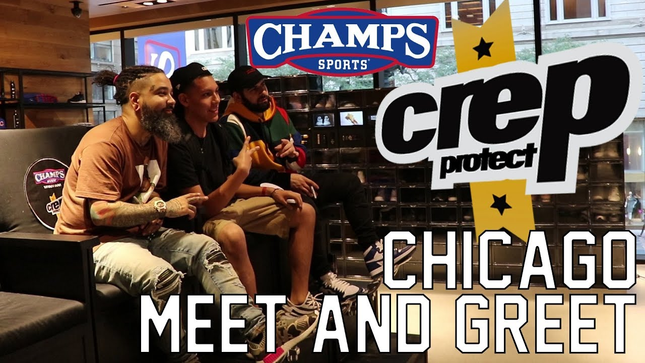 Chicago champs meet and greet with qias and crep youtube chicago champs meet and greet with qias and crep kristyandbryce Image collections
