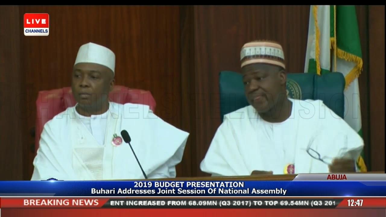2019 Budget Presentation Buhari Addresses Joint Session Of NASS Pt.1 |Live Event|