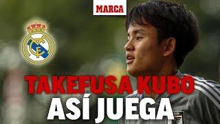 Fichajes Real Madrid 2019: así juega Takefusa Kubo I MARCA