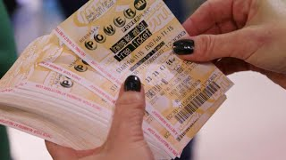 Combined lotto jackpots top $600 million