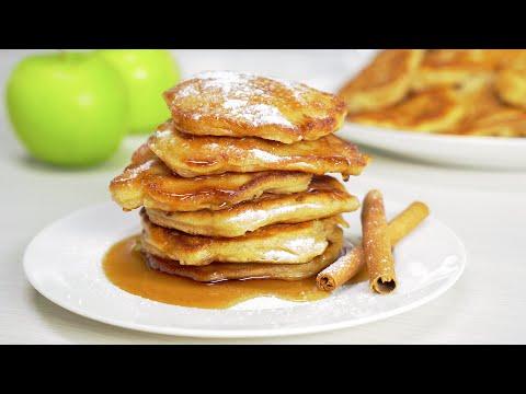 Яблочные оладьи! Невероятно нежные и воздушные! 25 минут и завтрак готов. Рецепт от Всегда Вкусно!