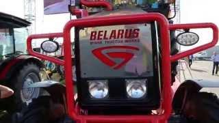 Ciągnik BELARUS odpicowany na Agro Show