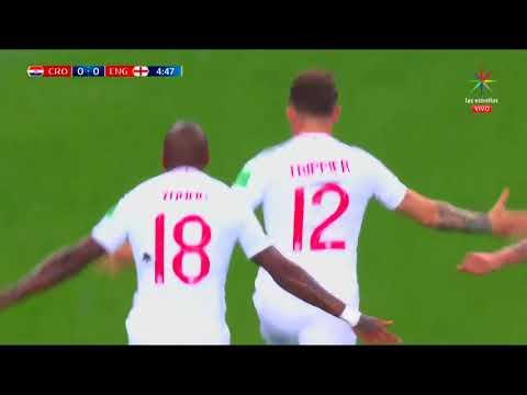 GOL Kieran Trippier 5' – CROACIA  VS INGLATERRA 0-1