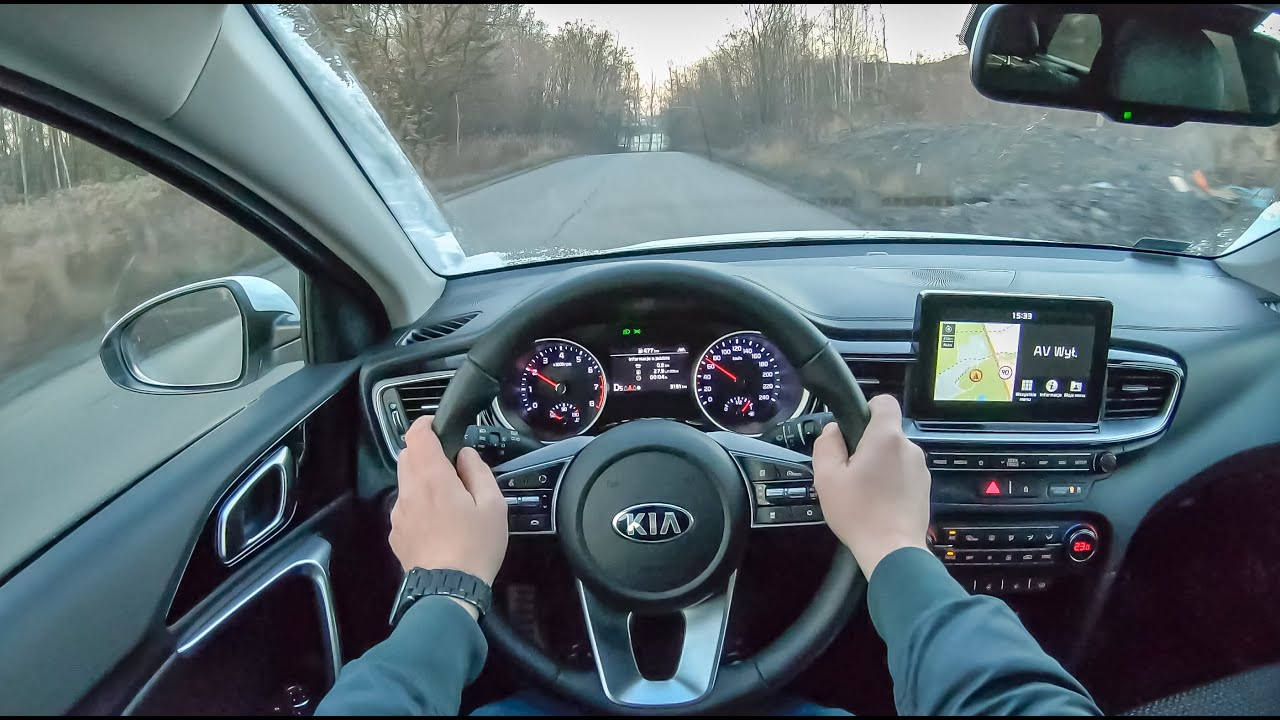 New Kia Ceed Sw 4k Pov Test Drive 131 Joe Black Youtube