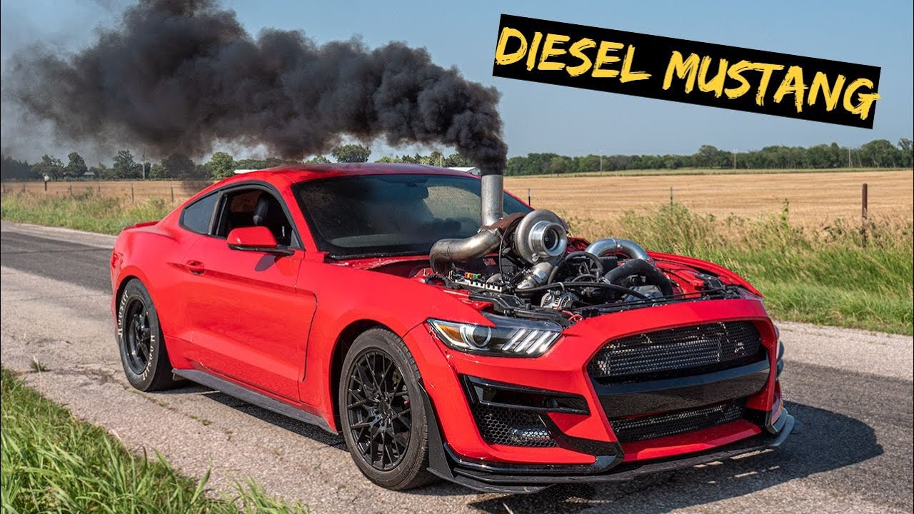 Download The Cummins Mustang Gets Twin Turbos off Semi Truck
