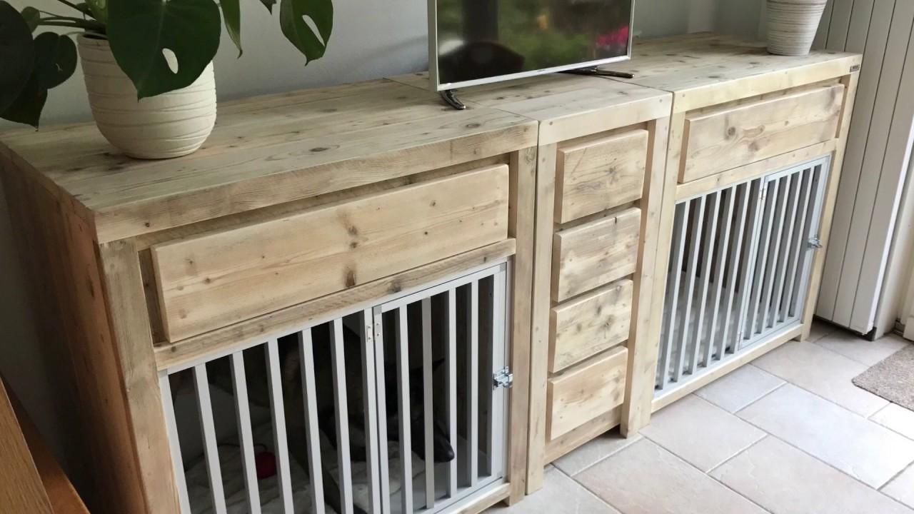 Bench meubel van steigerhout op maat youtube for Steigerhout op maat