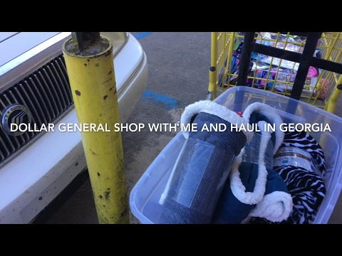 Dollar General Shop With Me and Haul March 16, 2017
