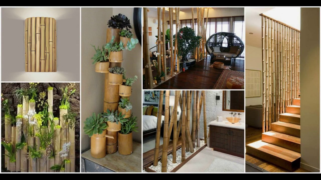 Bamboo Interior Design Ideas Garden Wall Art Furniture