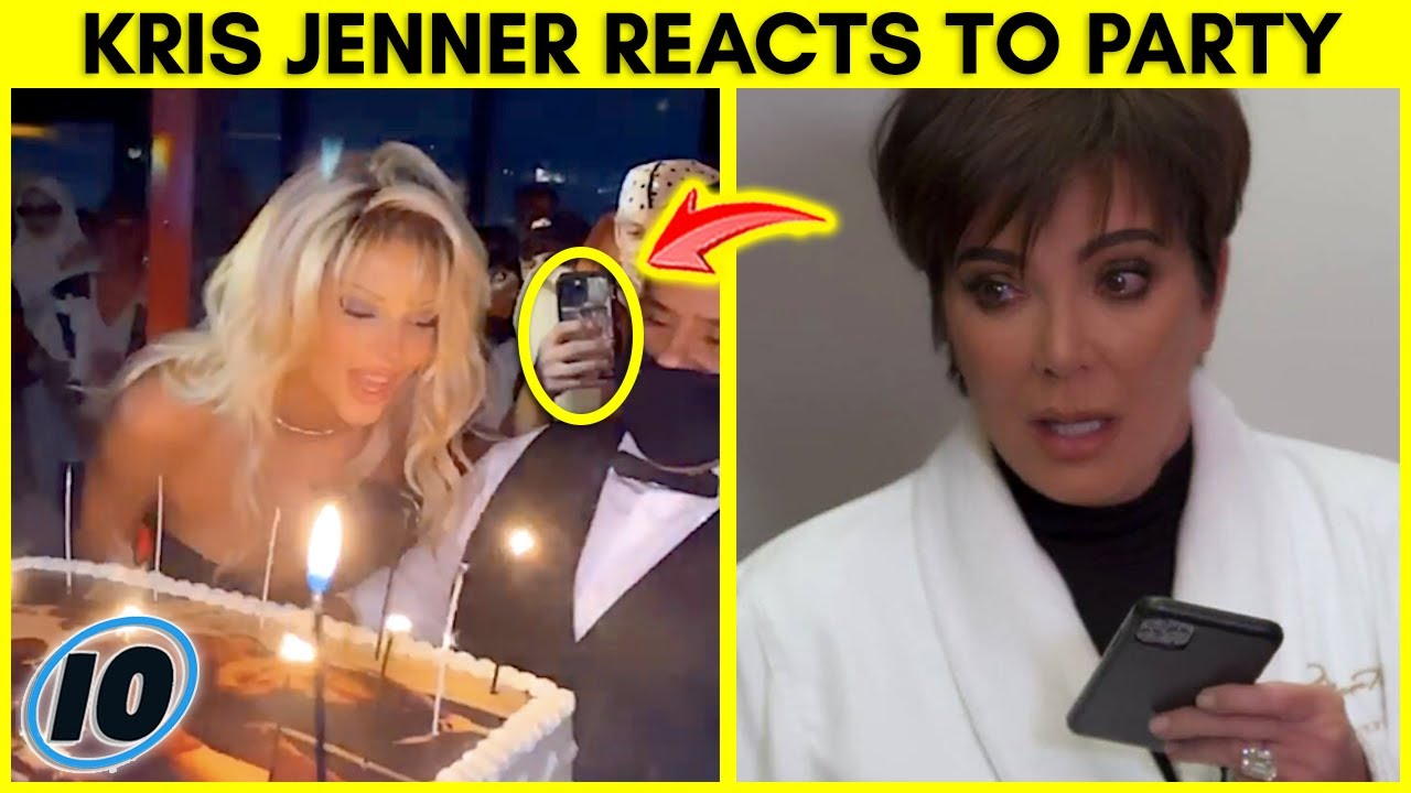 Kris Jenner Reacts To Kendall Jenner Party Backlash   InformOverload