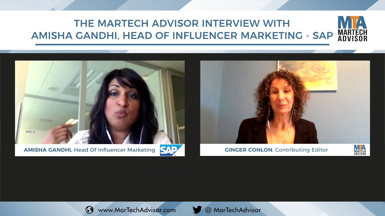 Interview with Amisha Gandhi, Head of Influencer Marketing