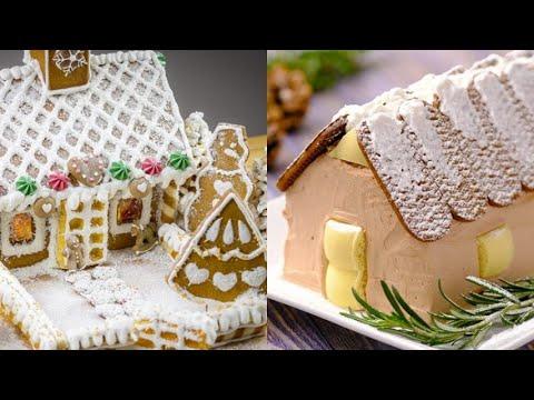 Christmas themed dessert